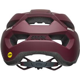 Bell Spark MIPS Helmet Damen matte maroon/slate/sand